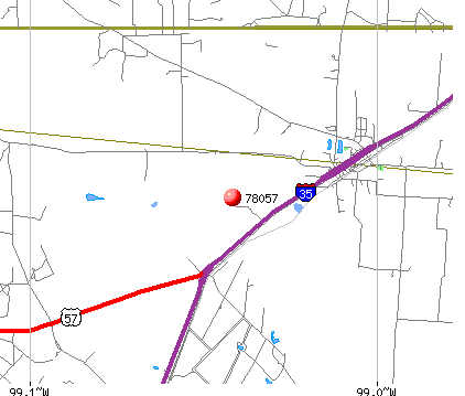 Moore, TX (78057) map