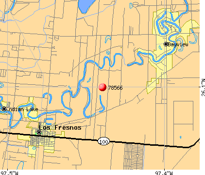 Brownsville, TX (78566) map
