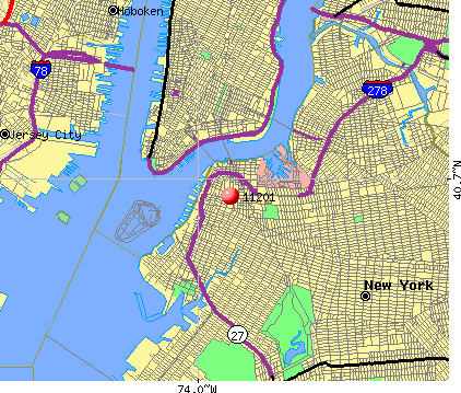 New York, NY (11201) map