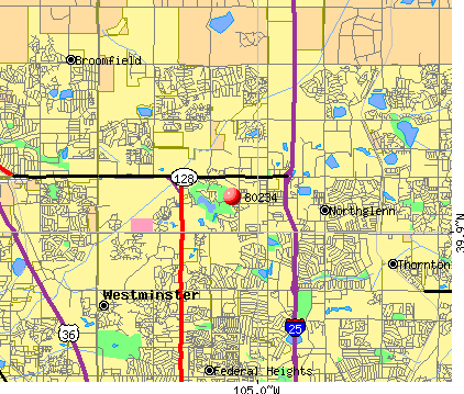 Westminster, CO (80234) map