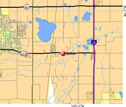 Longmont, CO (80504) map