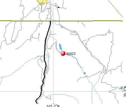 El Jebel, CO (81623) map