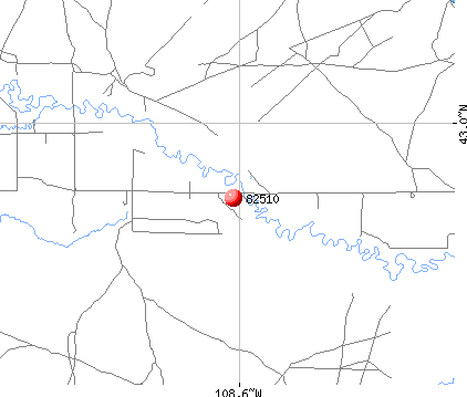 Ethete, WY (82510) map