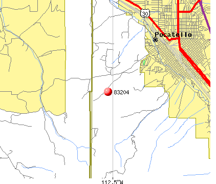 Arbon Valley, ID (83204) map