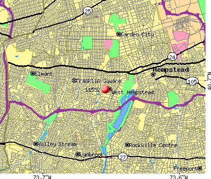 West Hempstead, NY (11552) map