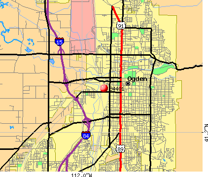 West Haven, UT (84401) map