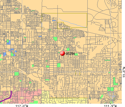 Phoenix, AZ (85254) map