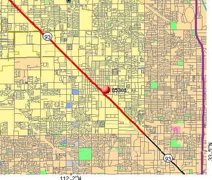 Glendale, AZ (85301) map