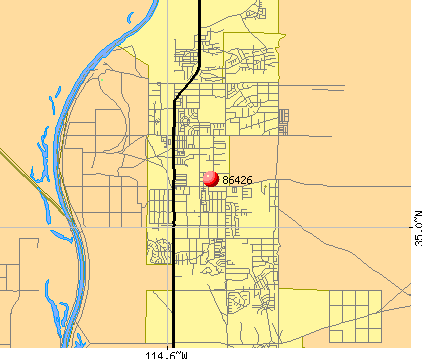 Bullhead City, AZ (86426) map