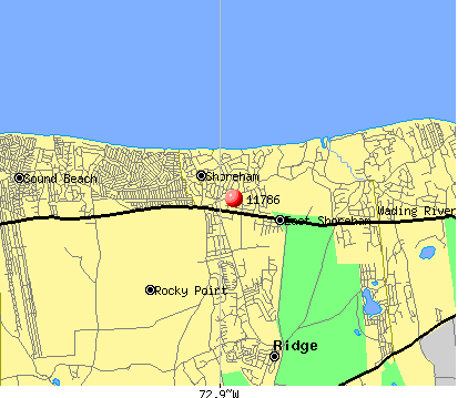 East Shoreham, NY (11786) map