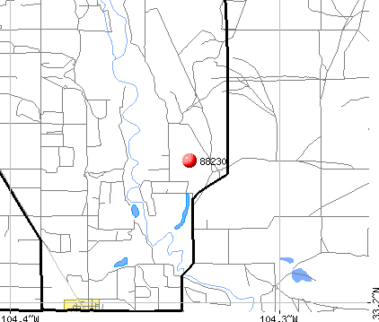 Midway, NM (88230) map