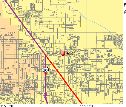 Las Vegas, NV (89130) map