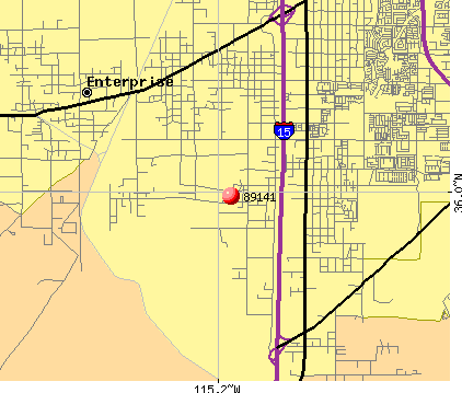 Enterprise, NV (89141) map