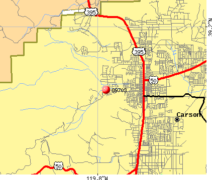 Carson City, NV (89703) map