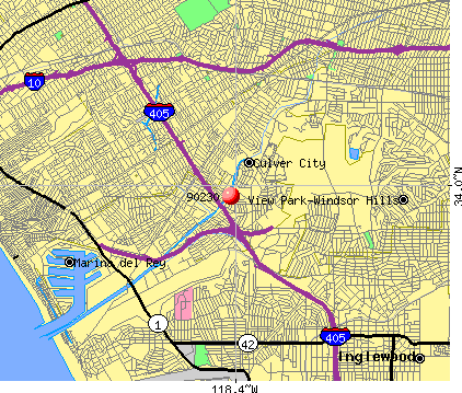 Culver City, CA (90230) map