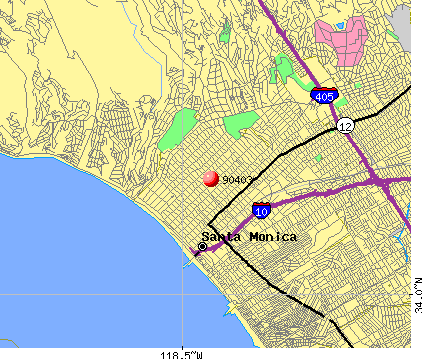 Santa Monica, CA (90403) map