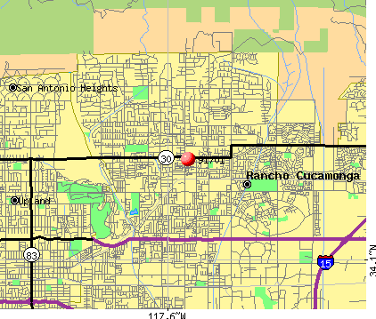 Rancho Cucamonga, CA (91701) map