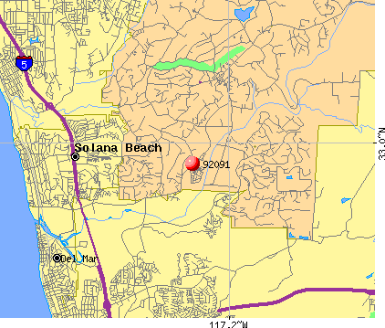 Fairbanks Ranch, CA (92091) map