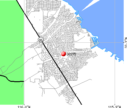 Salton City, CA (92275) map