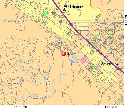 Murrieta, CA (92562) map