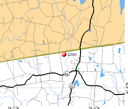 Greenville, NY (12083) map