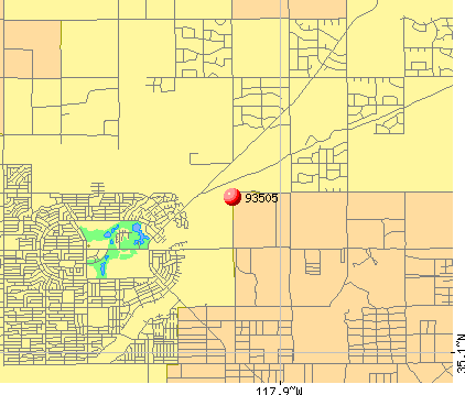 California City, CA (93505) map