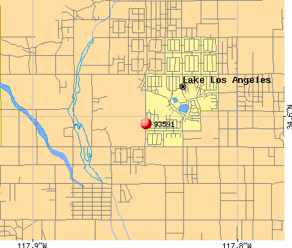 Palmdale, CA (93591) map