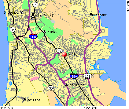 South San Francisco, CA (94080) map