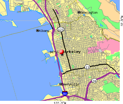Berkeley, CA (94710) map
