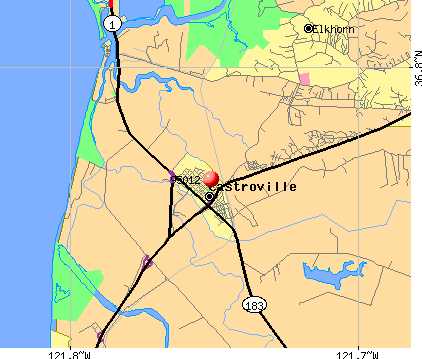 Elkhorn, CA (95012) map