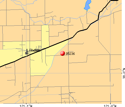Linden, CA (95236) map