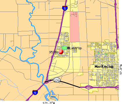 Lathrop, CA (95330) map