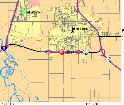 Manteca, CA (95337) map