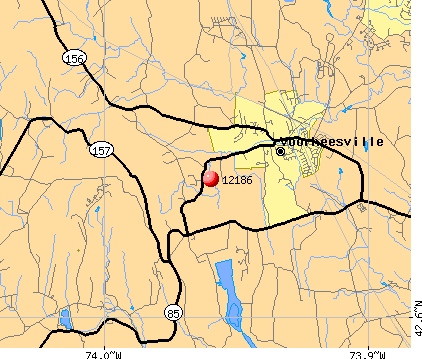 Voorheesville, NY (12186) map