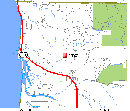 Smith River, CA (95567) map