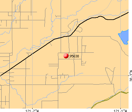 Clay, CA (95638) map