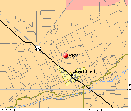 Wheatland, CA (95692) map