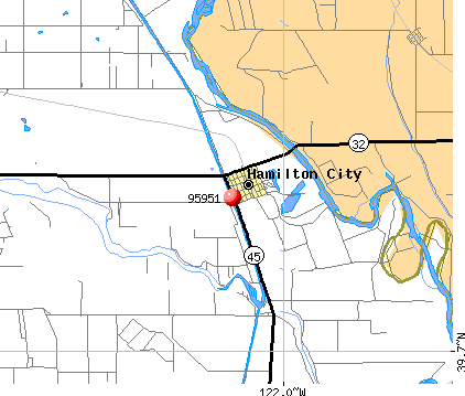 Hamilton City, CA (95951) map