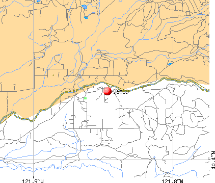 Manton, CA (96059) map