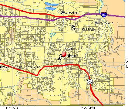Gresham, OR (97030) map