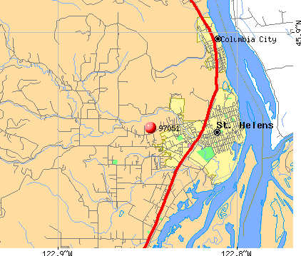 St. Helens, OR (97051) map
