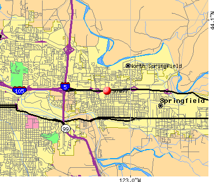 Springfield, OR (97477) map