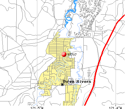 Sunriver, OR (97707) map