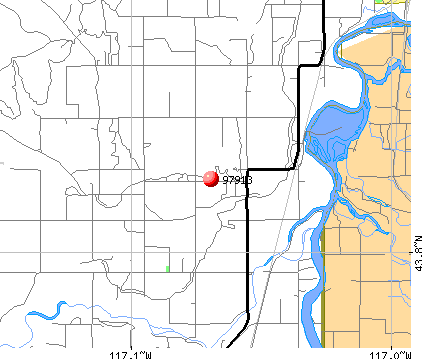 Nyssa, OR (97913) map