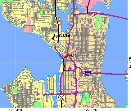 Seattle Map By Zip Code