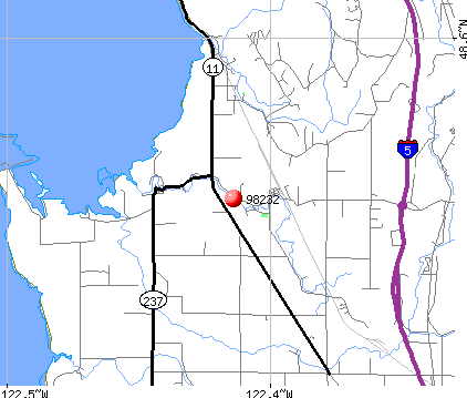 Edison, WA (98232) map
