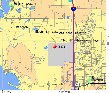 Marysville, WA (98271) map