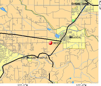Buckley, WA (98321) map