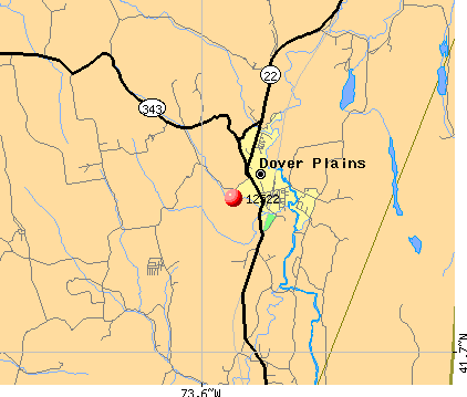 Dover Plains, NY (12522) map