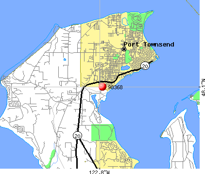 Port Townsend, WA (98368) map
